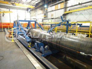 internal strait pipe cladding