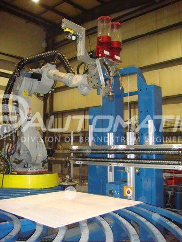 robotic pta mig welding 3d laser scanner imaging