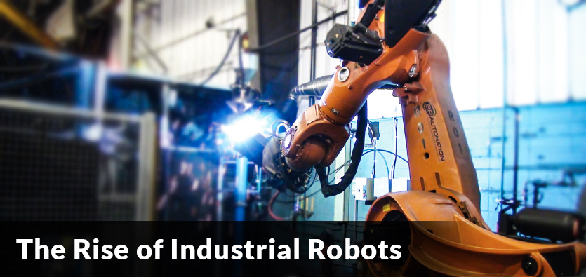 The Rise of Industrial Robots