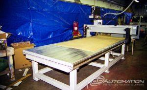 PLASTIC-EXTRUDER-TABLE