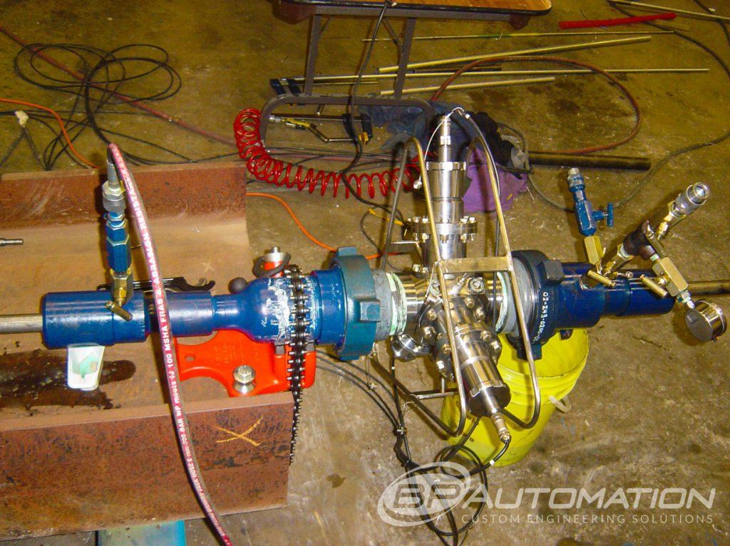 prototype development tubing encoder