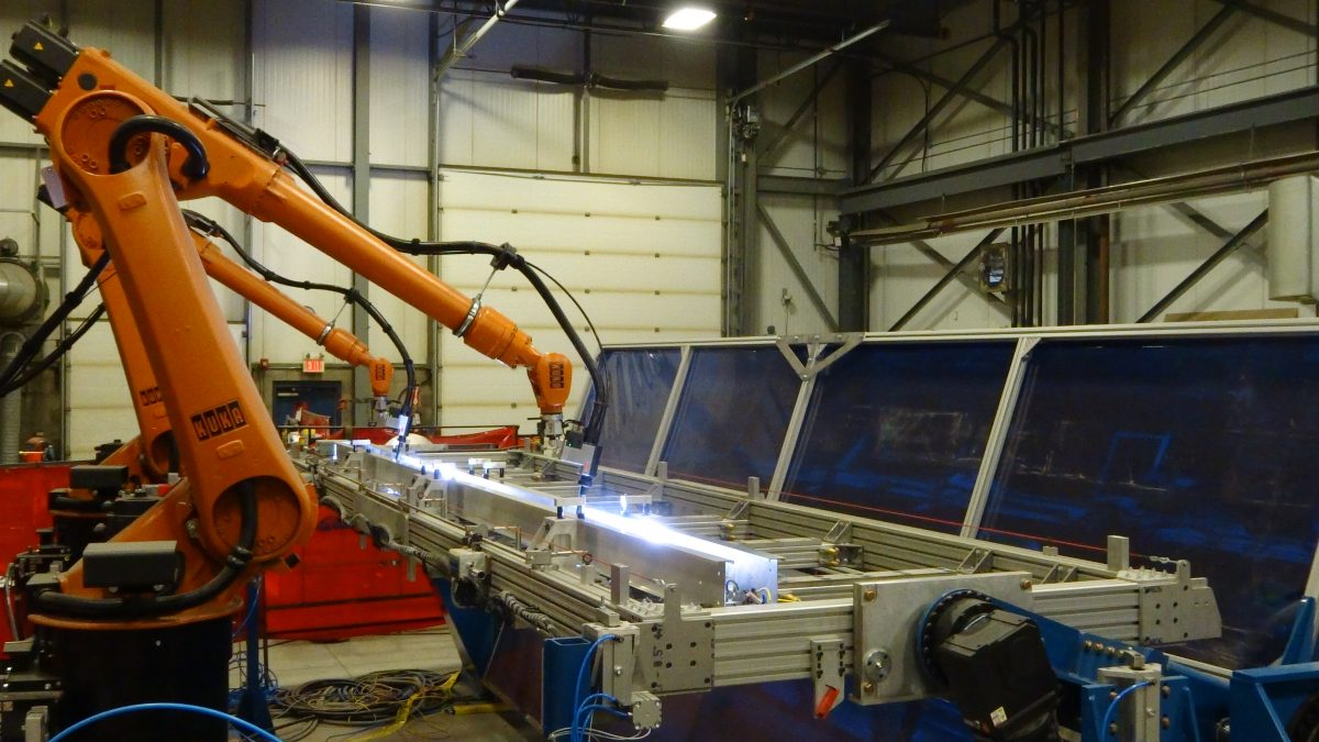 Large Panel Robotic Welding | Video